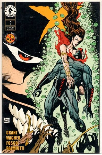 X #7 (1994) by Dark Horse Comics