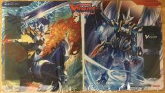 "Cardfight Vanguard Rubber Mat ""King of Knights, Alfred & /Dragonic Waterfall"" by Bushiroad"