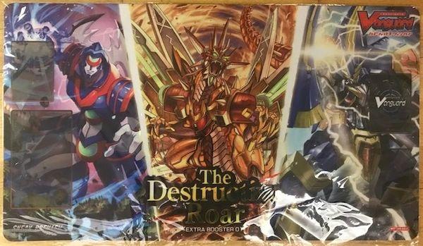 """Cardfight Vanguard Rubber Mat """"The Destructive Roar"""" by Bushiroad"""