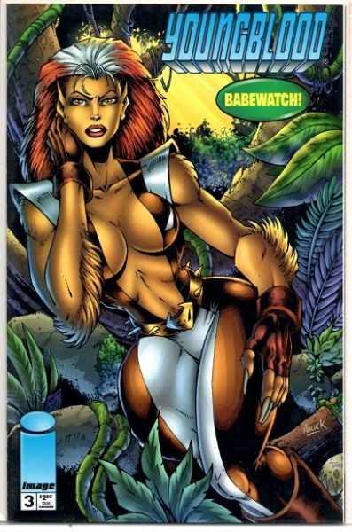 Youngblood #3 (1995) by Image Comics