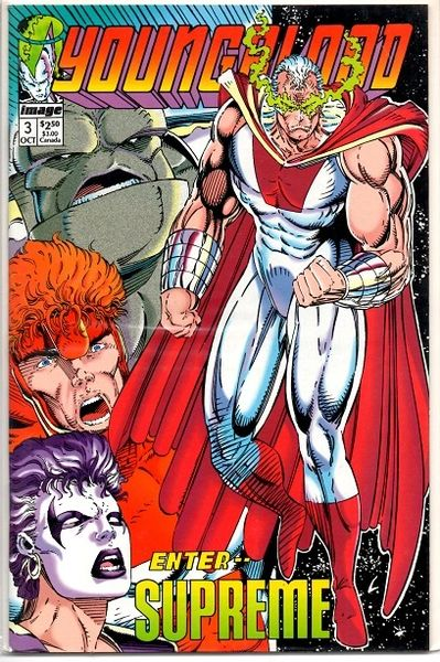 Youngblood #3b (1992) by Image Comics