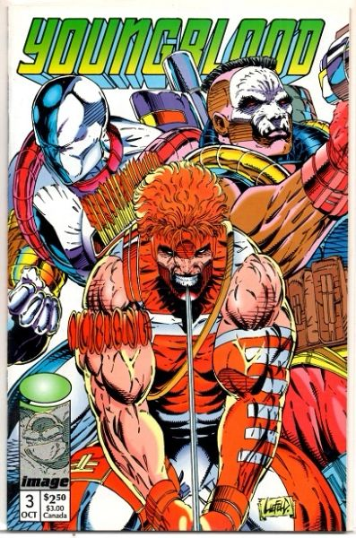 Youngblood #3a (1992) by Image Comics