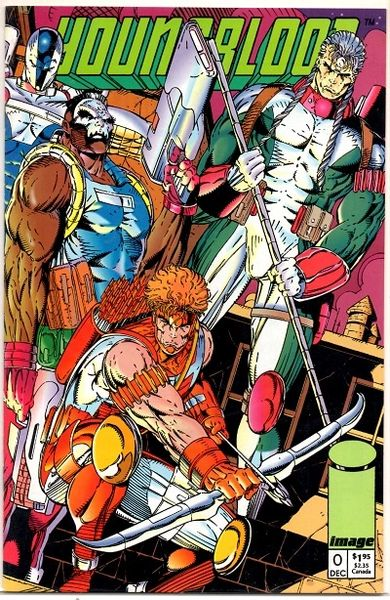 Youngblood #0 (1992) by Image Comics