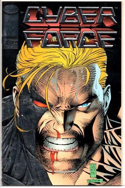 Cyberforce #4 (1993) by Image Comics
