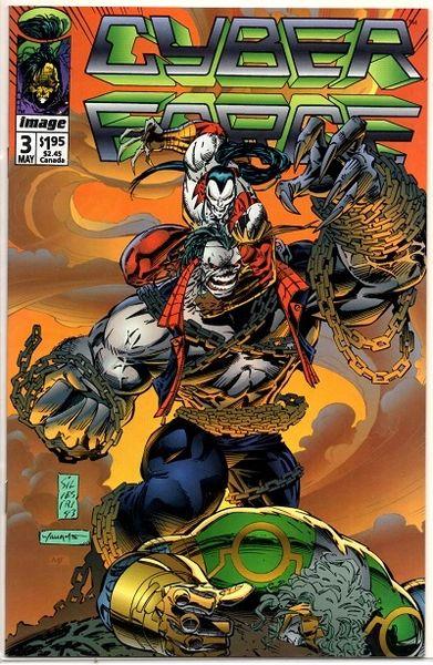 Cyberforce #3 (1993) by Image Comics