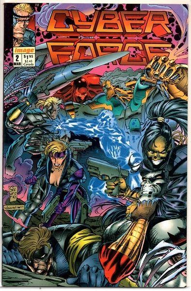 Cyberforce #2 (1993) by Image Comics
