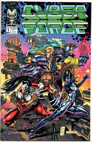 Cyberforce #1 (1992) by Image Comics