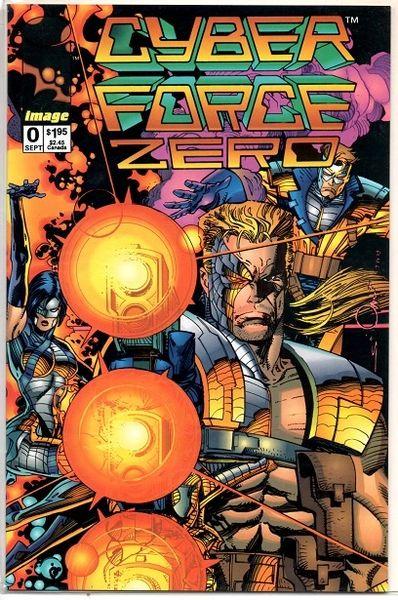 Cyberforce #0 (1992) by Image Comics