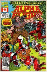 Alpha Flight #115 (1992) by Marvel Comics