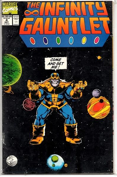 The Infinity Gauntlet #4 (1991) by Marvel Comics