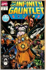 The Infinity Gauntlet #1 (1991) by Marvel Comics