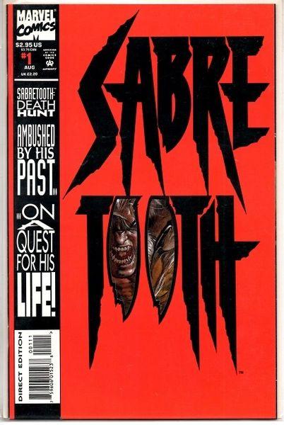 Sabretooth #1 (1993) by Marvel Comics