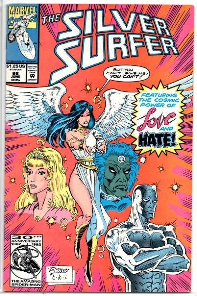 The Silver Surfer #66 (1992) by Marvel Comics