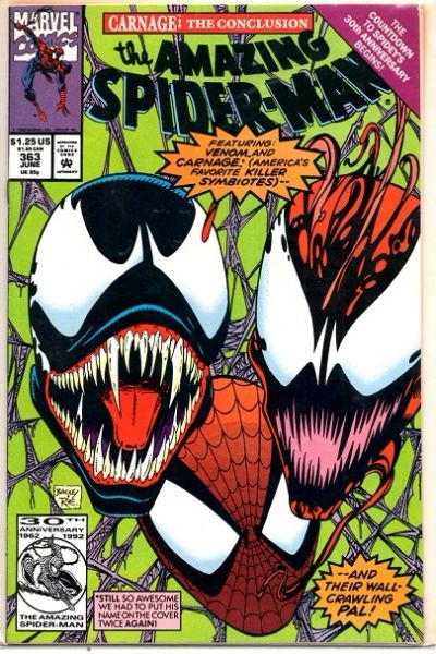 The Amazing Spider-Man #363 (1992) by Marvel Comics