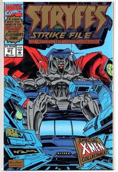 Stryfe's Strike File #1 (1993) by Marvel Comics