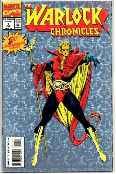 The Warlock Chronicles #1 (1993) by Marvel Comics