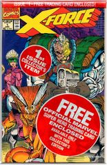 X-Force #1 with Cable Card (1991) by Marvel Comics