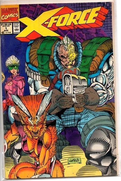 X-Force #1 (1991) by Marvel Comics