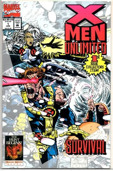 X-Men Unlimited #1 (1993) by Marvel Comics