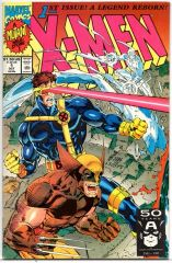 X-Men #1b (1991) by Marvel Comics