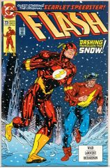 The Flash #73 (1993) by DC Comics
