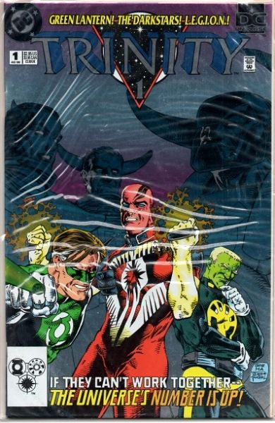 DC Universe: Trinity #1 (1993) by DC Comics