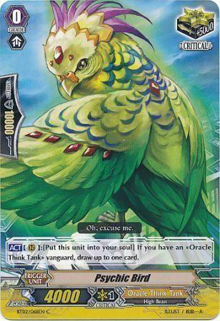 BT02/068EN (C) Psychic Bird