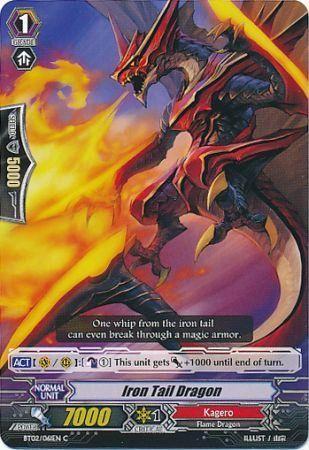 BT02/061EN (C) Iron Tail Dragon