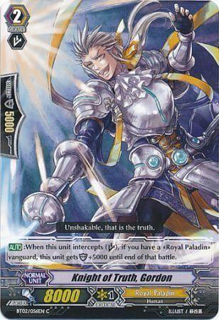 BT02/056EN (C) Knight of Truth, Gordon