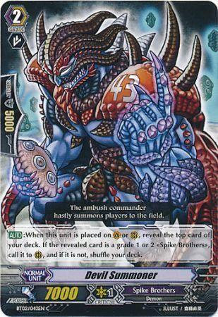 BT02/042EN (C) Devil Summoner