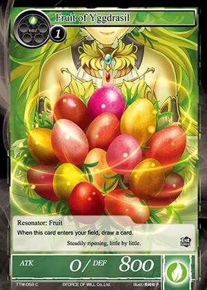TTW-059 C - Fruit of Yggdrasil