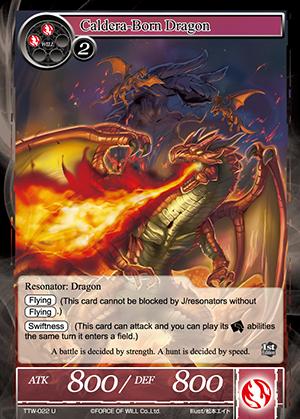 TTW-022 U - Caldera-Born Dragon