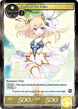 TTW-005 C - Fairy of the Lake