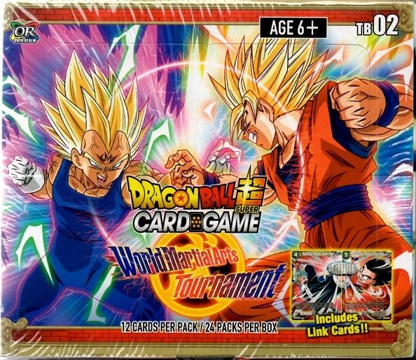 "Dragon Ball Super Card Game ""World Material Arts Tournament"" TB02"