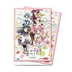 "Deck Protector Sleeves Small Size ""Puella Magi Madoka Magica the Movie -Rebellion-"" by Ultra PRO"