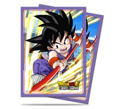 "Deck Protector Sleeves Standard Size ""Dragon Ball Super (Explosive Spirit Son Goku)"" by Ultra PRO"