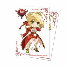 """Deck Protector Sleeves Small Size """"Fate Extra Last Encore (Chibi Nero)"""" by Ultra PRO"""