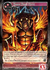 SKL-025 C - Flame King's Shout