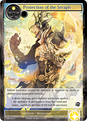 SKL-015 C - Protection of the Seraph