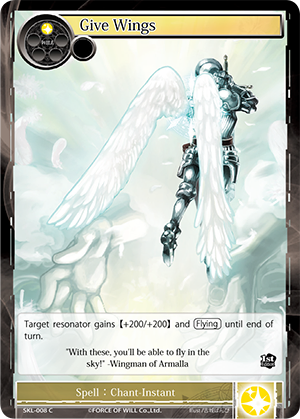 SKL-008 C - Give Wings
