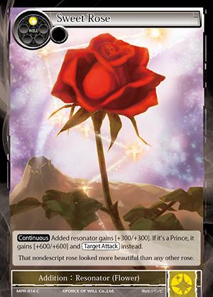MPR-016 C - Sweet Rose