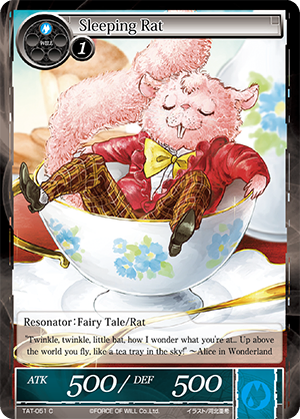 TAT-051 C - Sleeping Rat