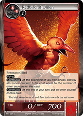TAT-034 U - Redbird of Omen