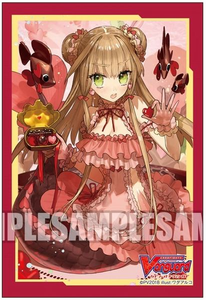 """Sleeve Collection Mini """"Cardfight!! Vanguard (Sweet Love, Liselotte)"""" Vol.379 by Bushiroad"""