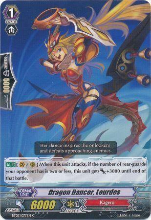 BT03/077EN (C) Dragon Dancer, Lourdes