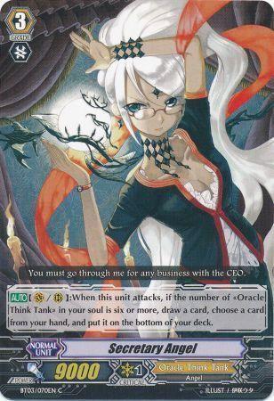 BT03/070EN (C) Secretary Angel