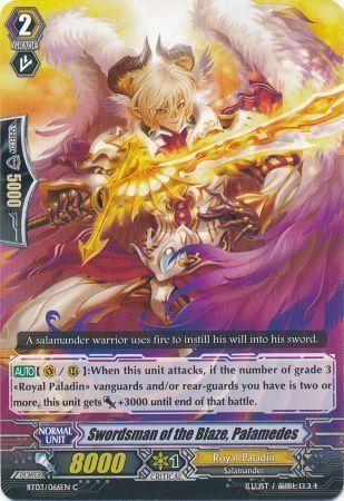 BT03/066EN (C) Swordsman of the Blaze, Palamedes