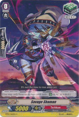 BT03/062EN (C) Savage Shaman
