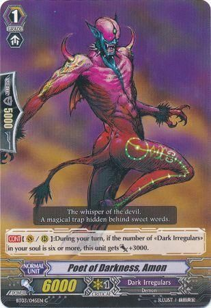 BT03/045EN (C) Poet of Darkness, Amon