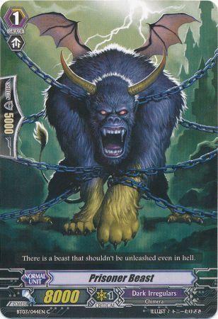 BT03/044EN (C) Prisoner Beast